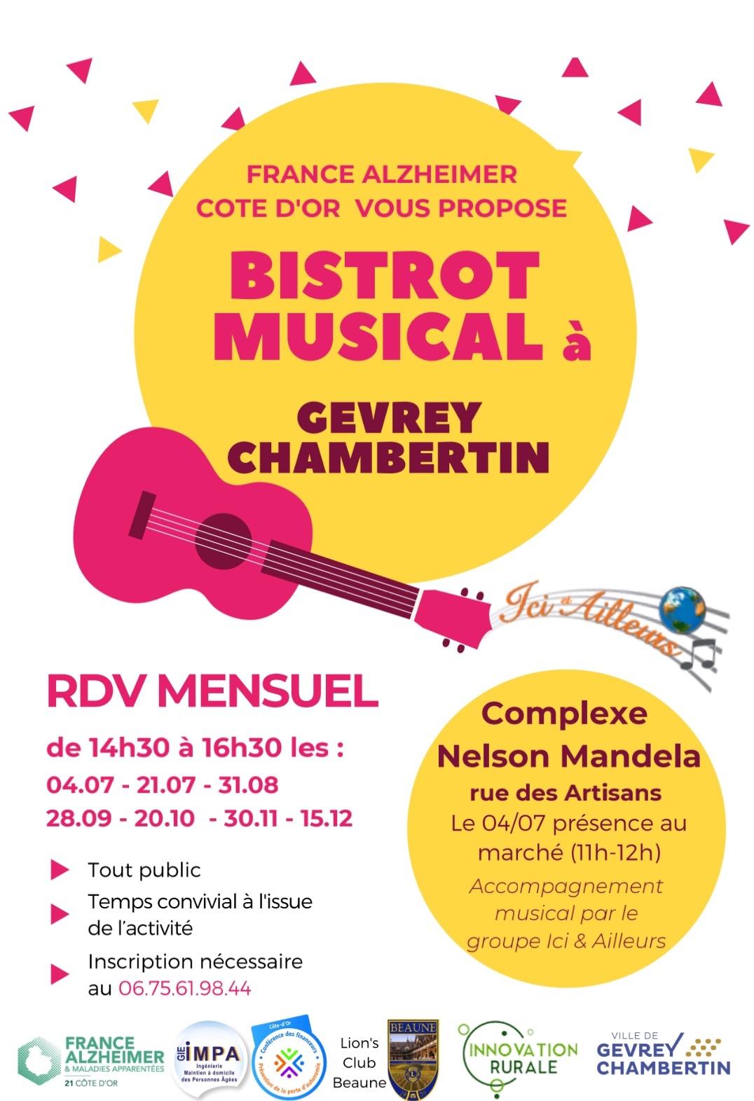 Bistrot musical – France Alzheimer