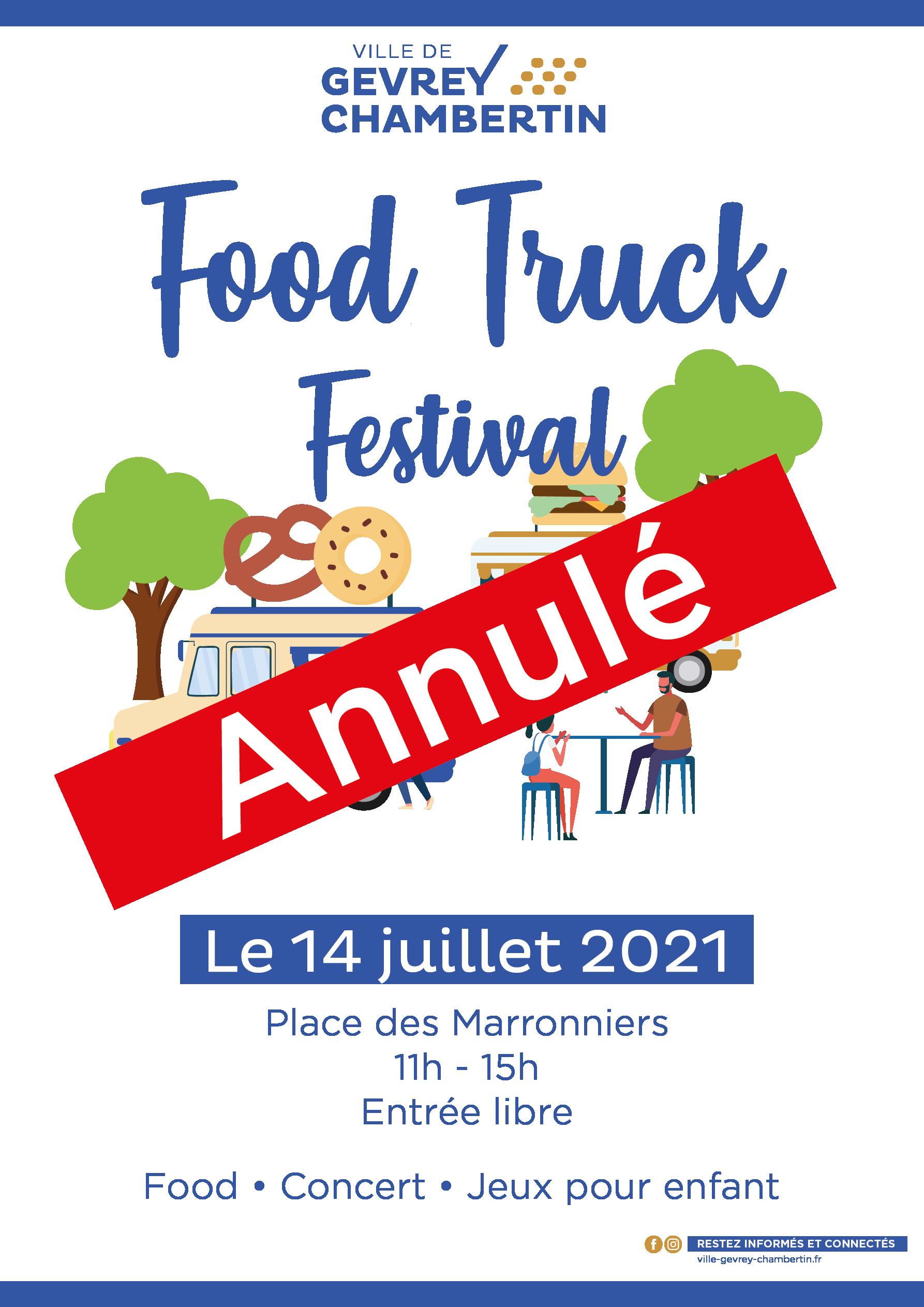 Food truck Festival #ANNULÉ